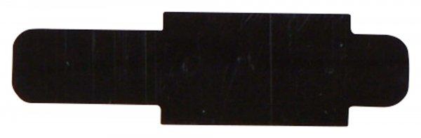 Signalaufstecker - Packung 100 Aufstecker schwarz von Beycodent