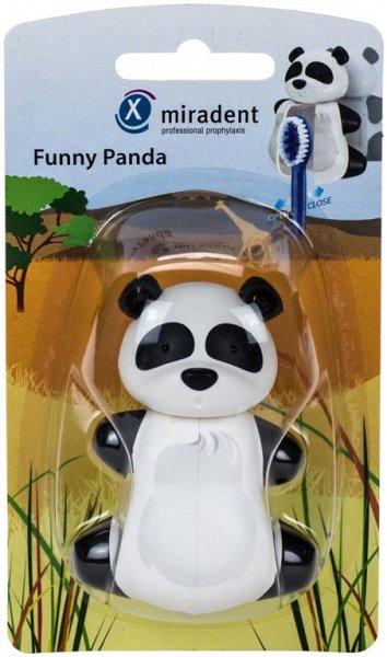 Zahnbürstenhalter Funny Animals - Stück Zahnbürstenhalter Panda von Hager & Werken