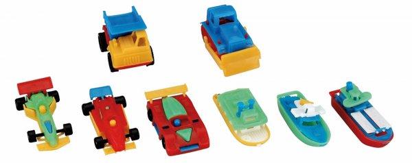 Miratoi® Nr. 10 Miniautos, -schiffe - Packung 100 Autos und Schiffe, Nr. 10 von Hager & Werken