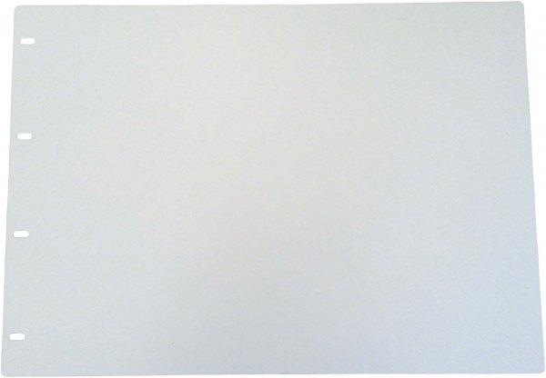 Schreib-und Wendeplatte für Terminplaner - Stück weiß, A3 von Beycodent