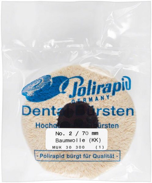 Plüschmullen - Stück 2/70 mm, KZ von Polirapid