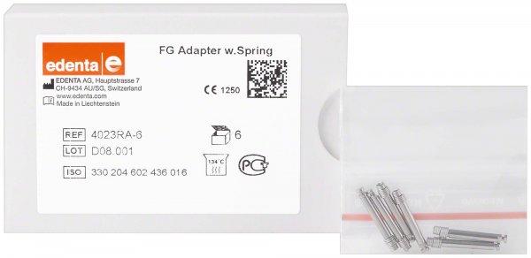 Adapter FG - Packung 6 Adapter 4023RA von Edenta