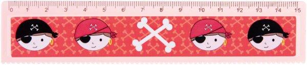 Lineal Pirat - Packung 60 Lineale 15 cm von MirusMix