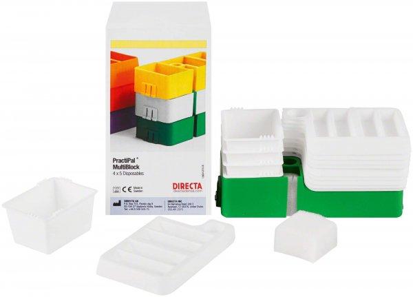 PractiPal® Multiblock - Stück grün von Directa AB