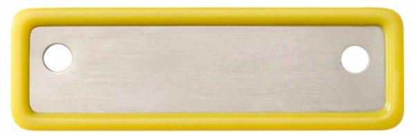 Kennzeichnungsschilder Steri-Wash-Tray - Stück gelb von Carl Martin