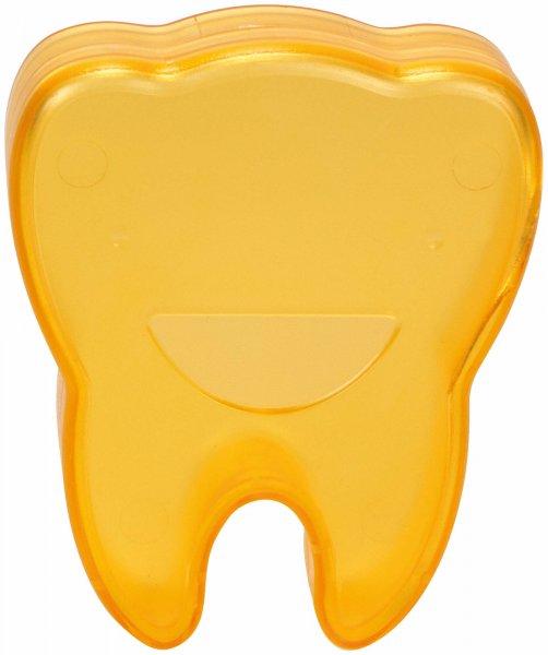 Zahnboxen - Stück orange, Abmessung (65 x 55 x 15 mm) von Cardex Dental