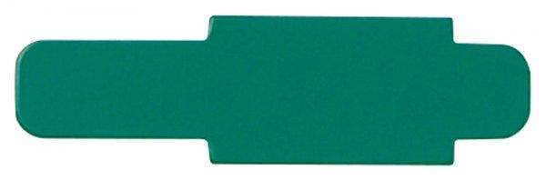 Signalaufstecker - Packung 100 Aufstecker grün von Beycodent