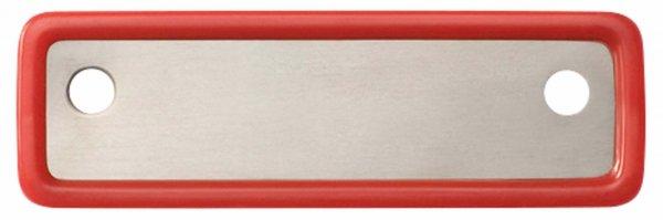 Kennzeichnungsschilder Steri-Wash-Tray - Stück rot von Carl Martin