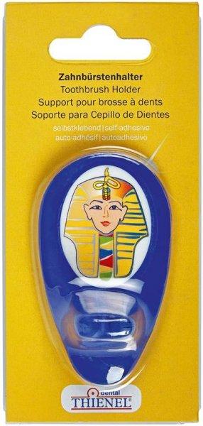 Zahnbürstenhalter - Stück Pharao, blau von THIENEL Dental