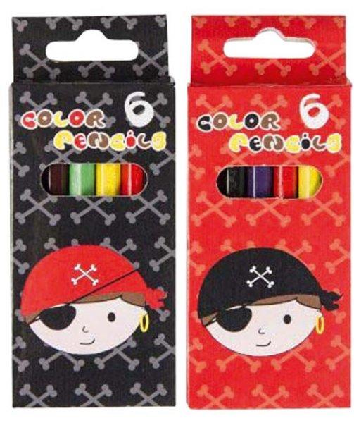 Buntstifte Pirat - Packung 24 x 6 Stifte von MirusMix