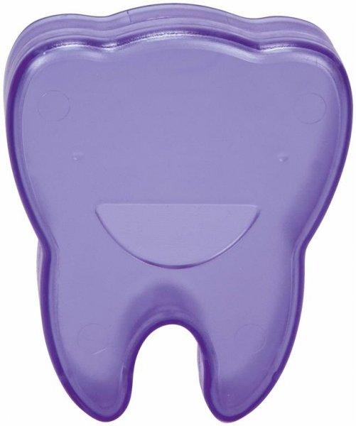 Zahnboxen - Stück blau, Abmessung (65 x 55 x 15 mm) von Cardex Dental