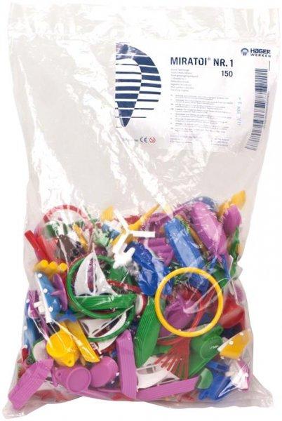 Miratoi® Nr. 1 Mischsortiment - Packung 150 Spielsachen gemischt, Nr. 1 von Hager & Werken