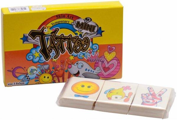 Tattoos - Packung 144 Tattoos Kids von MirusMix
