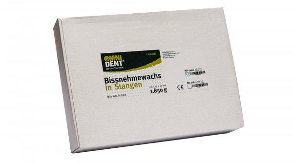 Bissnehmewachs - Packung 1,85 kg Stangen gelb, weich von OMNIDENT