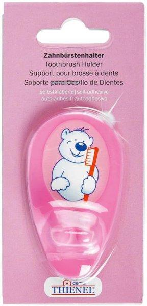 Zahnbürstenhalter - Stück Bär, pink von THIENEL Dental
