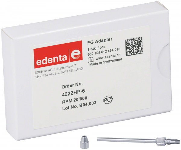Adapter FG - Packung 6 Adapter 4022HP von Edenta
