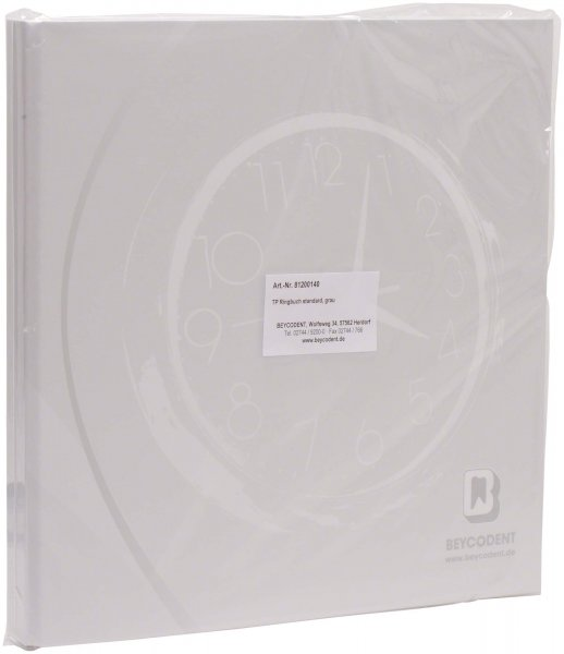 TP-Ringbuch standard - Stück grau von Beycodent