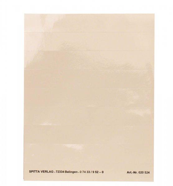 Verstärker-Leiste für Kartei - Blatt 8 Aufkleber von Spitta Verlag