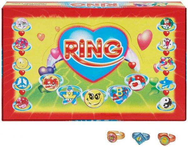 Ringe - Displaybox 72 Ringe mit Märchenmotiven von MirusMix