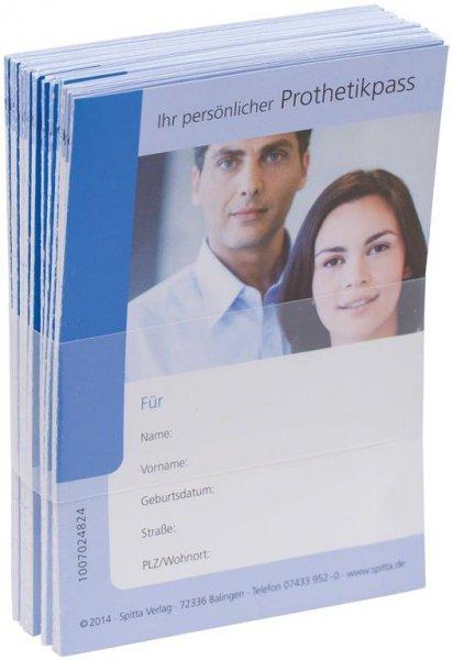 Prothetikpass - Packung 25 Pässe von Spitta Verlag