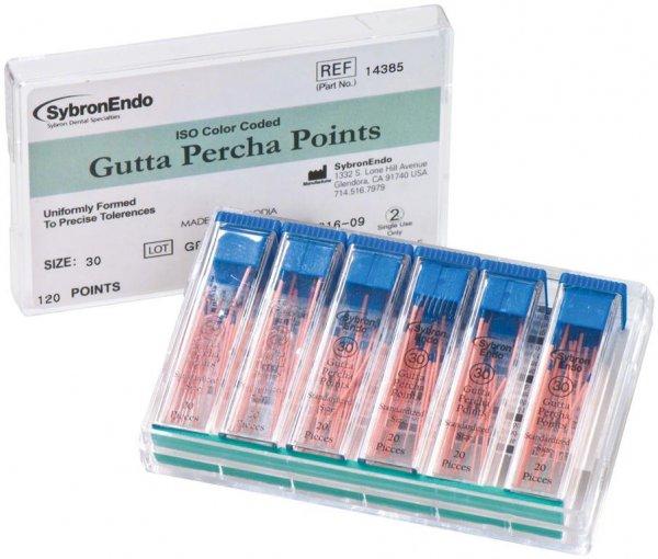 Standardized Gutta Percha - Packung 6 x 20 Stück ISO 030 von Kerr