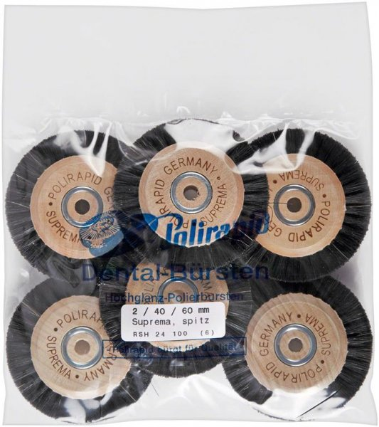 Super Bürste - Packung 6 Bürsten RSH 24 100 von Polirapid