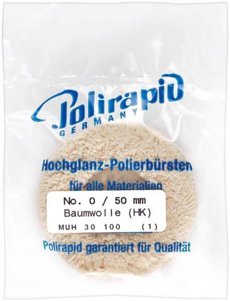 Plüschmullen - Stück 0/50 mm, HZ von Polirapid