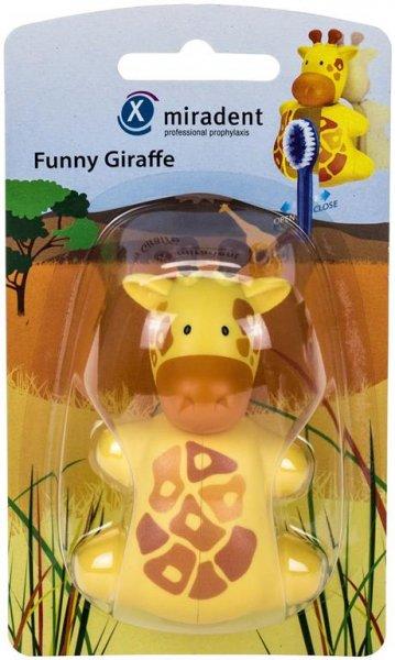 Zahnbürstenhalter Funny Animals - Stück Zahnbürstenhalter Giraffe von Hager & Werken