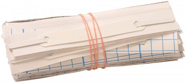 Hängeschienen für Kartei DIN A5/A4 - Packung 100 Hängeschienen von Spitta Verlag