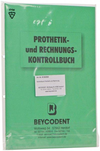 Prothetik- und Rechnungskontrollbuch - Stück von Beycodent