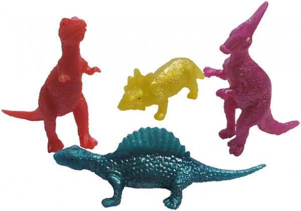 Stretch-Dinos - Packung 48 Dinos von MirusMix