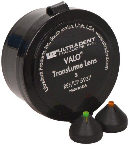 VALO Zubehör - Packung 2 TransLume Lenses (orange, grün) von Ultradent Products