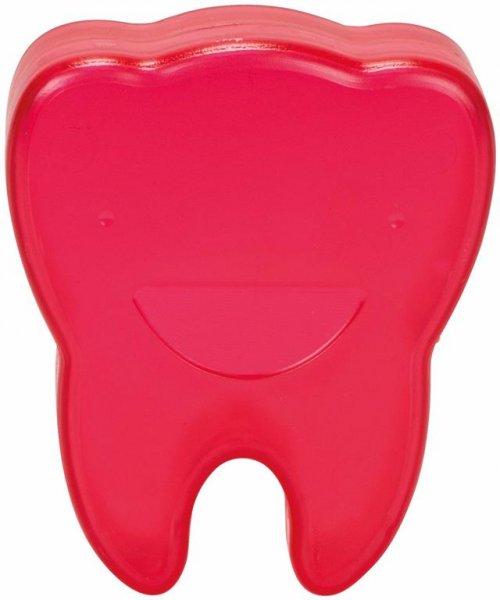 Zahnboxen - Stück rot, Abmessung (65 x 55 x 15 mm) von Cardex Dental
