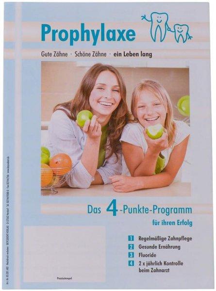 Patienten-Info Prophylaxe - Packung 50 Hefte von Beycodent