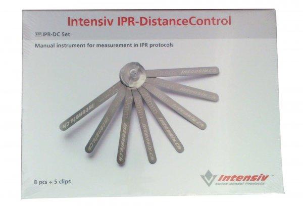 IPR-DistanceControl - Set 8 Instrumente 0,1 mm, 0,15 mm, 0,2 mm, 0,25 mm, 0,3 mm, ... von INTENSIV
