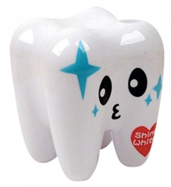 Zahnbehälter gefüllt - Kit Behälter weiß mit 70 Produkten von MirusMix