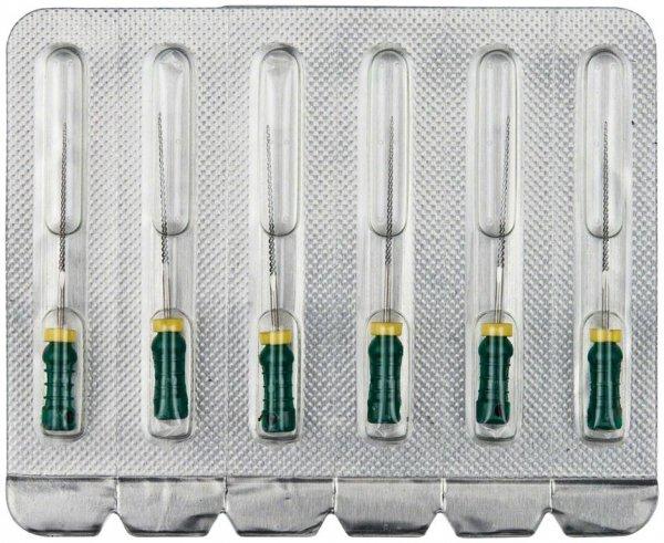 K-Feilen - Packung 6 Stück 25 mm ISO 035 von OMNIDENT