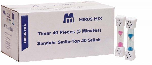 Sanduhr - Packung 40 Sanduhren Smile-Top von MirusMix