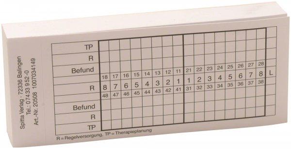 Befundaufkleber - Block 100 Befundaufkleber Erstbefund von Spitta Verlag