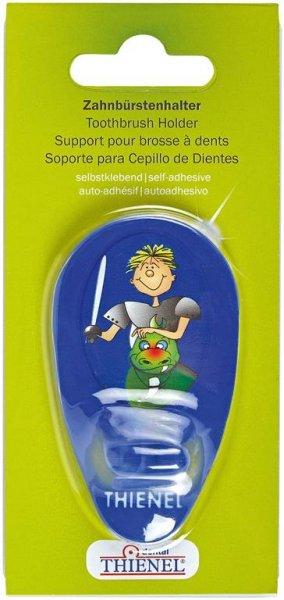 Zahnbürstenhalter - Stück Ritter, blau von THIENEL Dental