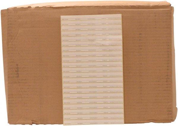 Aufkleber Röntgensichthüllen - Packung 21 Aufkleber, 16,1 x 1,2 cm von Spitta Verlag