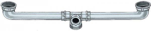 Gipsabscheider Zubehör - Stück Ablaufverbinder 120-600 mm von BDT