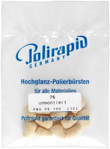 Filzkörper - Packung 12 Filzkörper FBU 09 100, unmontiert von Polirapid