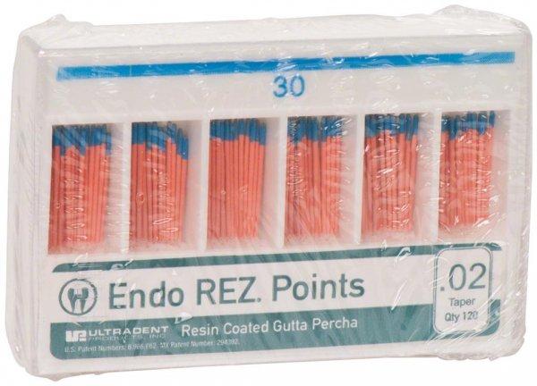 EndoREZ® - Packung 120 Stück Taper.02, ISO 030 von Ultradent Products