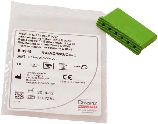 Instrumenteneinsätze - Stück für WS grün, 32 mm von Dentsply Sirona
