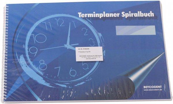 Terminplaner Spiralbuch Classic-Format - Stück Typ 234 von Beycodent