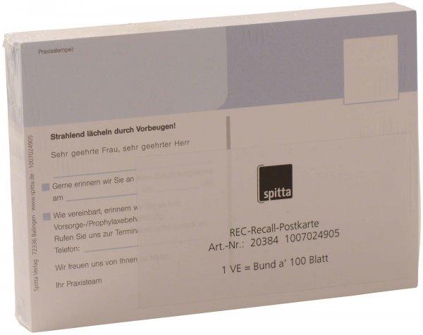 REC Recall Postkarte - Packung 100 Postkarten von Spitta Verlag