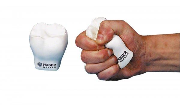 Anti-Stress Zahn - Stück Anti-Stress Zahn von Hager & Werken