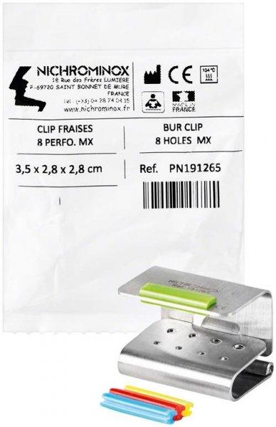 Bur Clip - Stück für 8 Instrumente MX von NICHROMINOX
