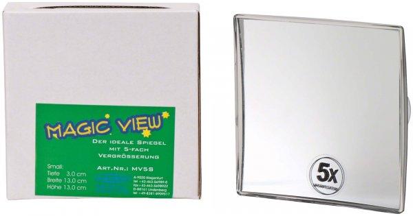 Magic View - Stück Spiegel klein (B x H x T): 13 x 13 x 3 cm von Cardex Dental